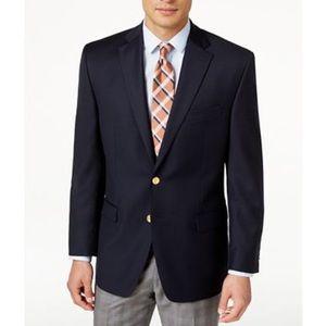 Lauren Ralph Lauren navy total comfort blazer